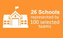 26 Schools Represented