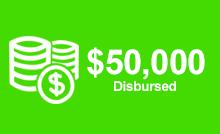 50000 Disbursed